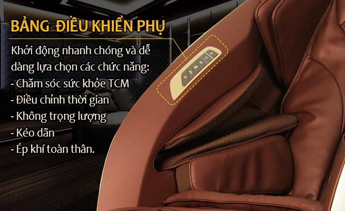 Ghế massage Shika 5D Cao cấp SK-119 GOLD